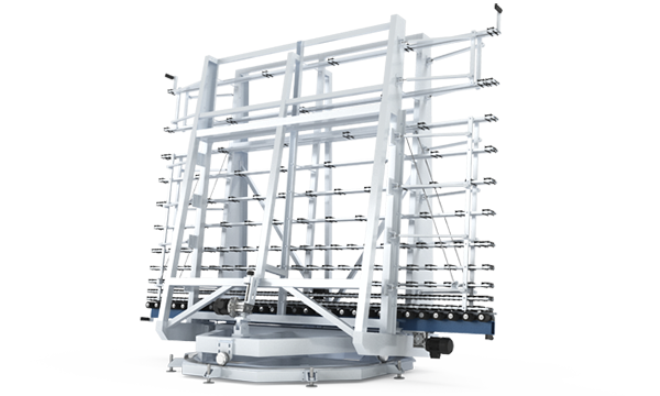 Automatic rotating conveyor