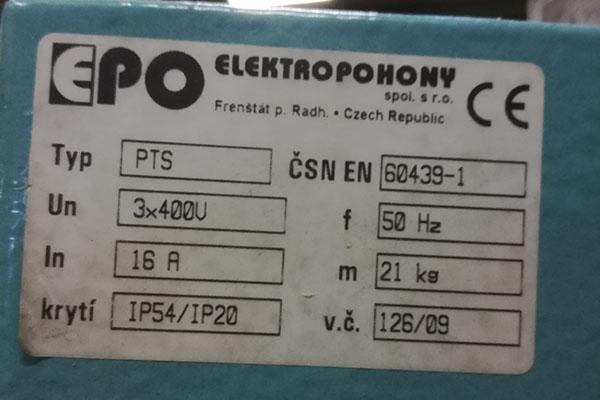 zaagmachine EPO
