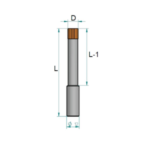 KDrills - FCI - Blind Drill Bits - Junction cilindric 10 mm