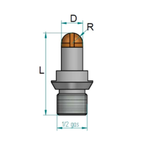 Drills drain grooves routers