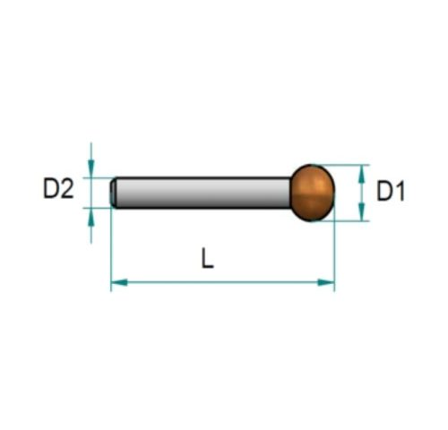 Drills - router for spherical engraving