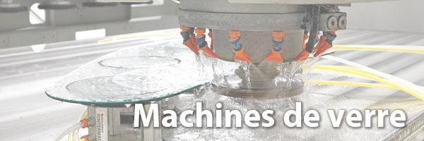 machines de verre