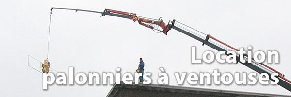 location palonniers à ventouses