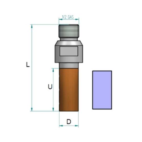 KDrills shape Z 1/2 gas